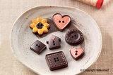 Chocoladevorm Buttons_