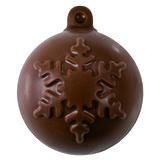 Chocoladevorm Kerstbal _