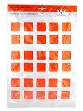 Decoratiesjabloon 29 x 39 cm (vierkanten 37,5 x 37,5 mm)_