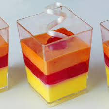 Dessertbeker vierkant 175ml