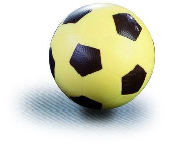 Chocoladevorm voetbal 12cm
