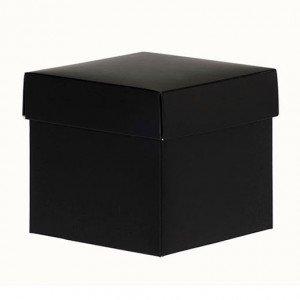 CubeBox® 125g Mat Zwart