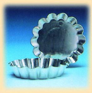 Tartelettevorm gekarteld Ø45 mm (25 stuks)