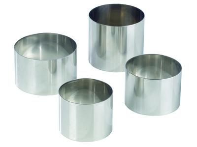Inox ring Ø 70 mm x h60 mm