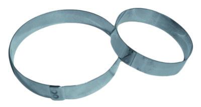 Inox ring Ø80 mm x h 16 mm