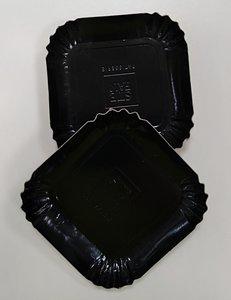 Zwartbordje vierkant 65 mm (100 stuks)