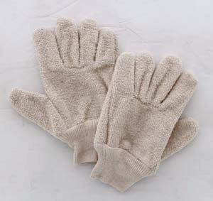 Ovenhandschoen met vingers spons