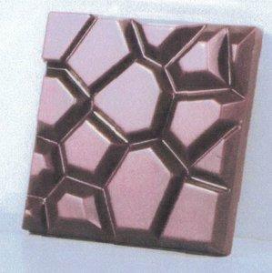 "Chocoladevorm tablet ""Stone"""