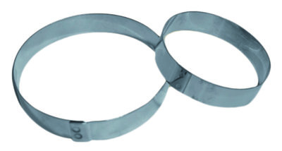 Inox ring Ø 60 mm x h 16 mm