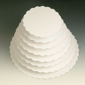 Rondel wit 25cm (500g)