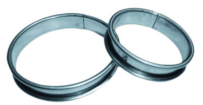 Ring inox Ø 16cm x h 27mm