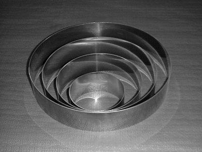 Inox Ring Ø140 mm x h 50 mm