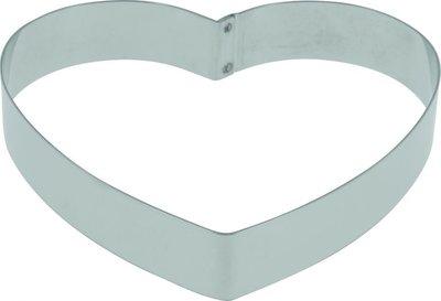 Hartvorm inox 160 mm - h 30 mm