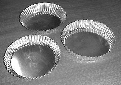 Taartvorm gekarteld Ø200 mm (rechte boord)
