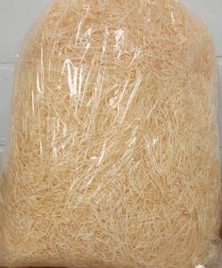 Fiber (stro) naturelkleur (200 g)