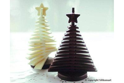 Chocoladevorm Kerstboom
