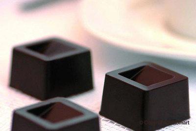 Chocoladevorm Kubus