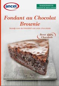 Folder Brownie / Fondant au Chocolat
