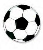 Voetbal hostie Ø40 mm