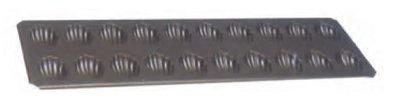 Bakplaat madeleines 395 x 125 mm